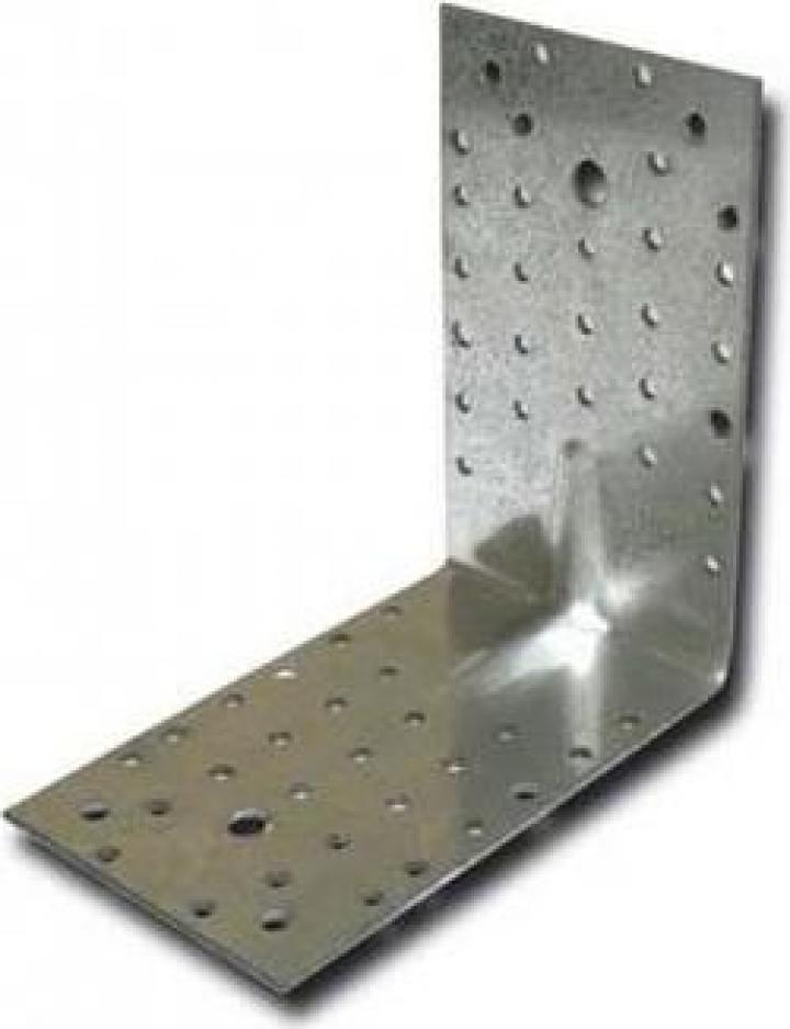 Coltar metalic, 150x150x90 2.5 mm, Strend Pro MA1174