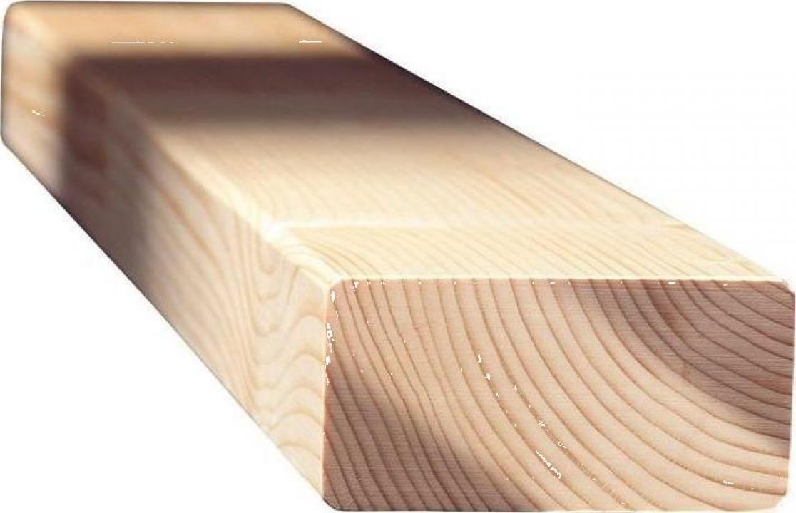 Grinda molid imbinata in dinti, 60x120mm, lungime 13 m