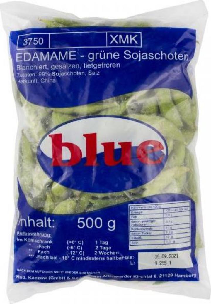 Pastai de soia Edamame Blue