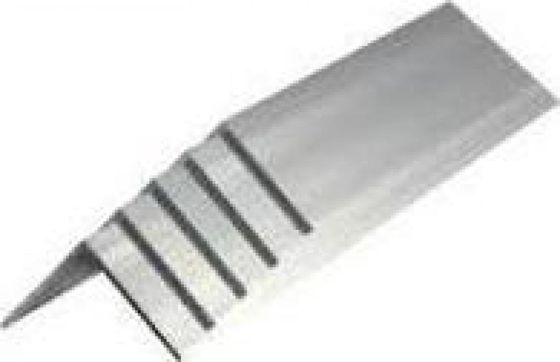 Cornier aluminiu 25x25x2mm profil L aluminiu