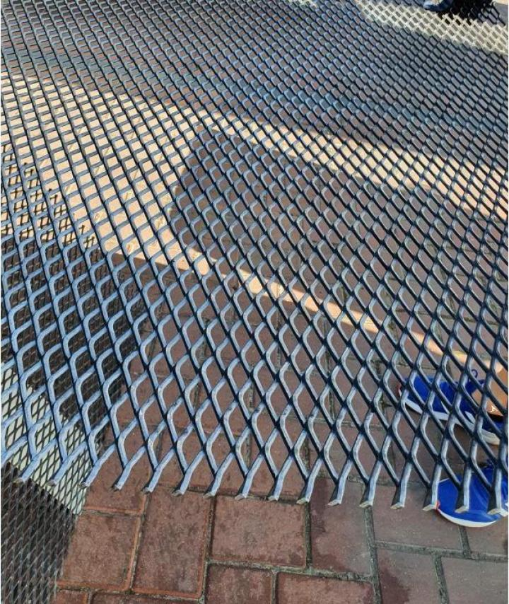 Tabla expandata otel zincat 43x20mm