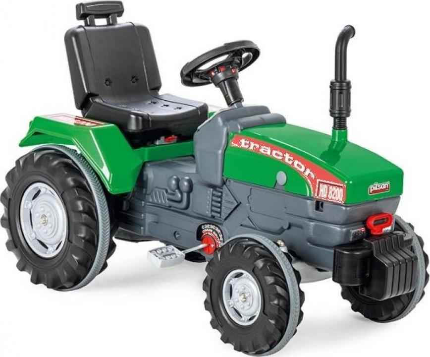 Jucarie Tractor cu pedale Pilsan Super verde