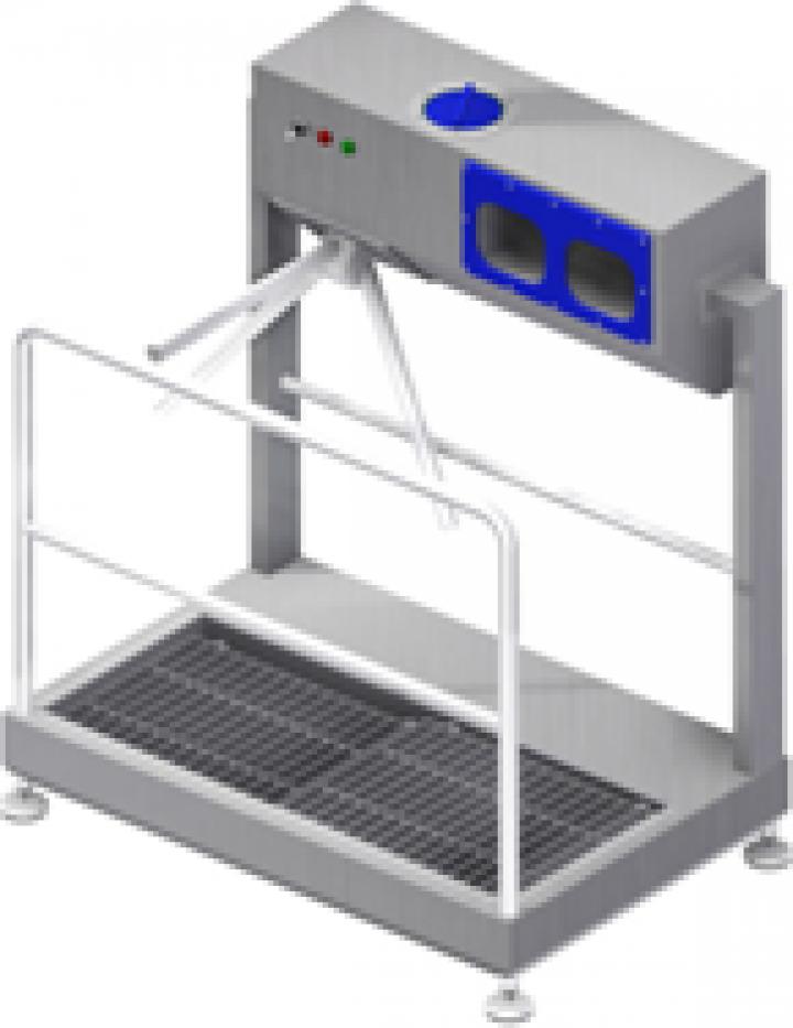 Ecluza igiena cu spalator automat incaltaminte SHM2