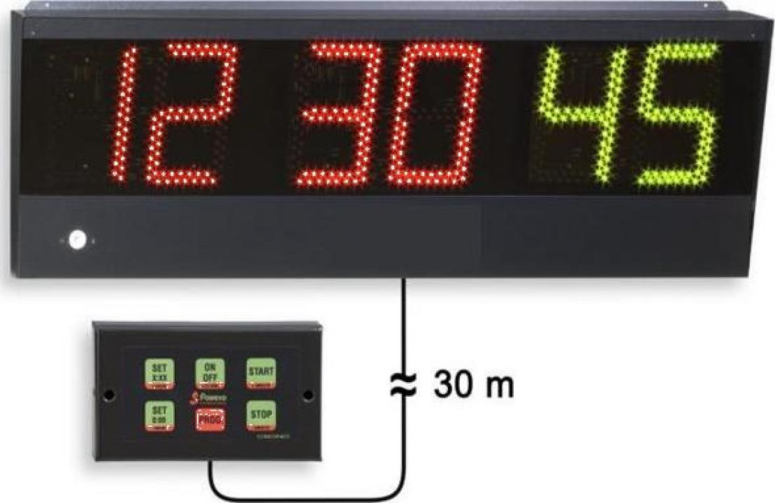 Cronometru sportiv pentru perete sala de sport