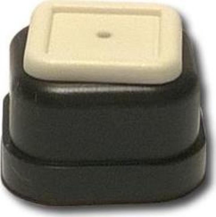 Capac buton plastic transmitator