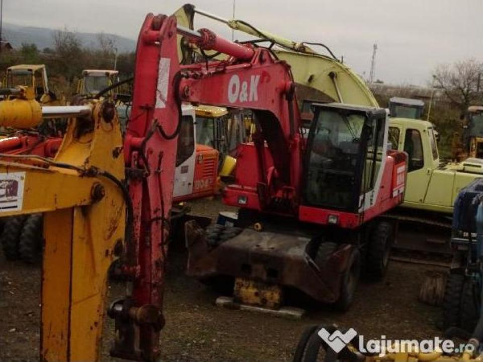 Excavator pe roti O&K MH 6 22 tone