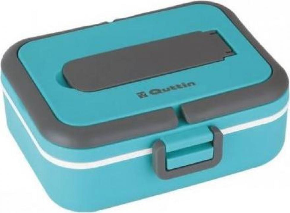 Cutie pereti thermo pentru mancare, 0.75 litri - albastra