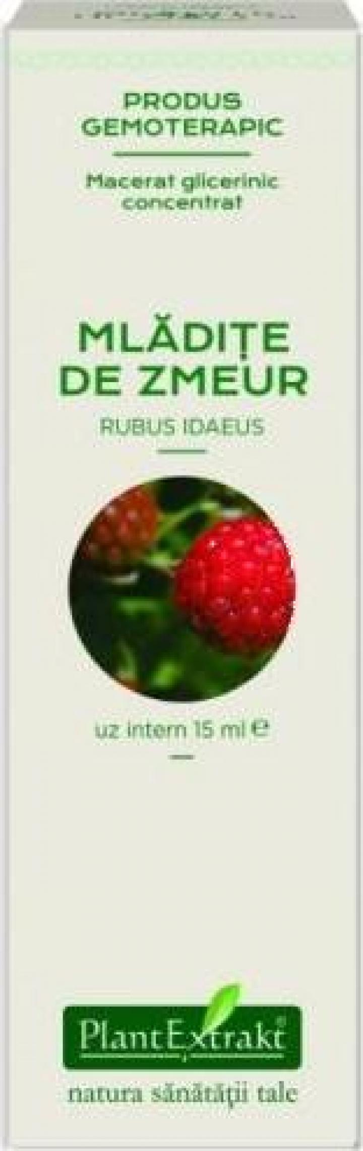 Extract concentrat din mladite de zmeur (Rubus Idaeus)