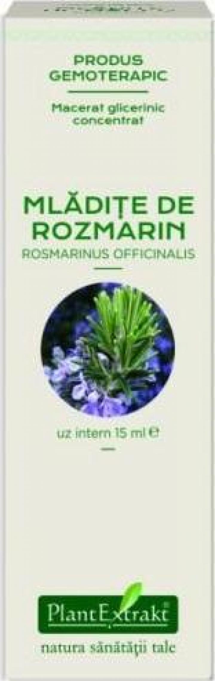 Extract concentrat din mladite de rozmarin (Rosmarinus Off.)