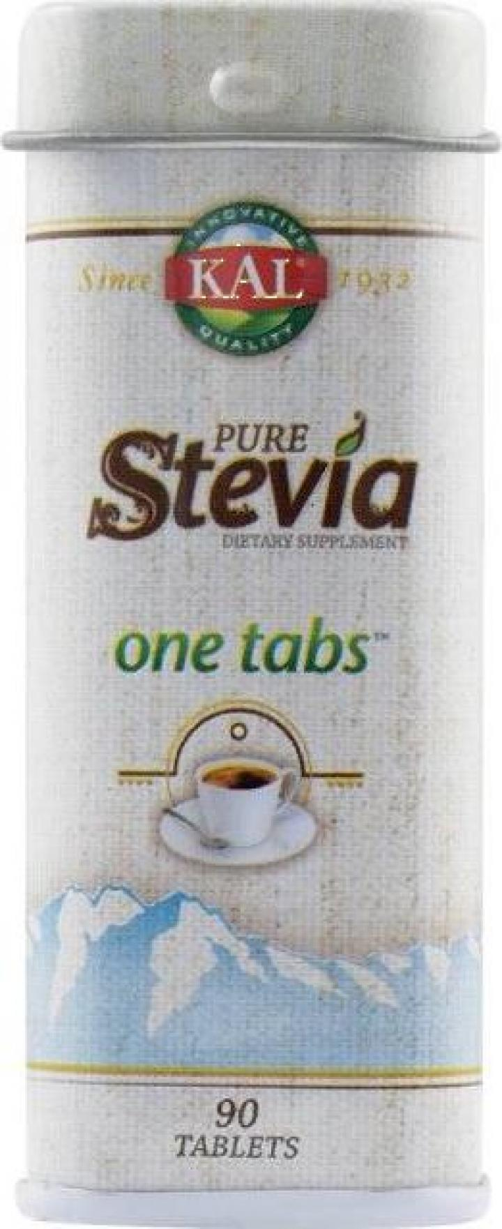 Indulcitor Pure Stevia One Tabs - 90 tablete -