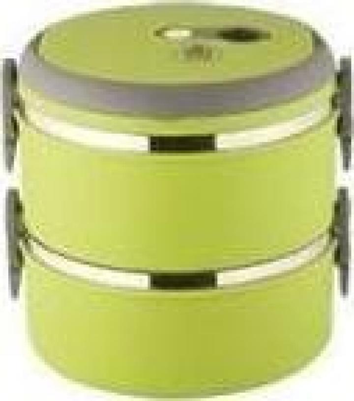 Sufertas cu 2 recipiente de 850 ml - verde