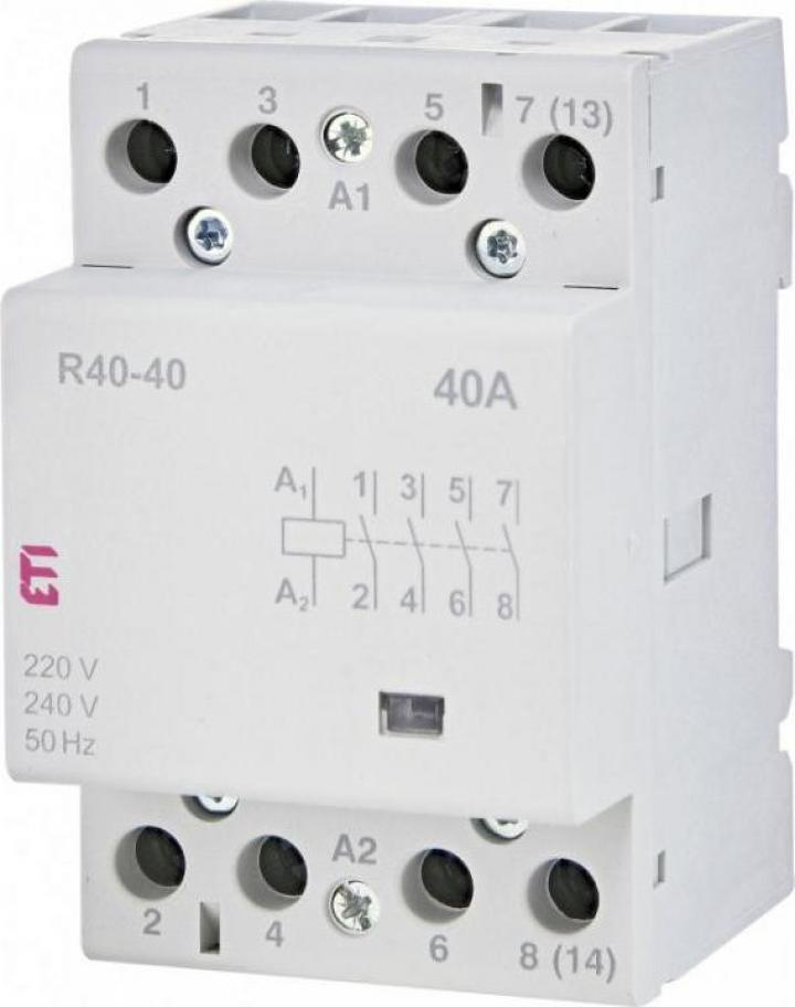 Contactor modular R 40-40 230V, Eti