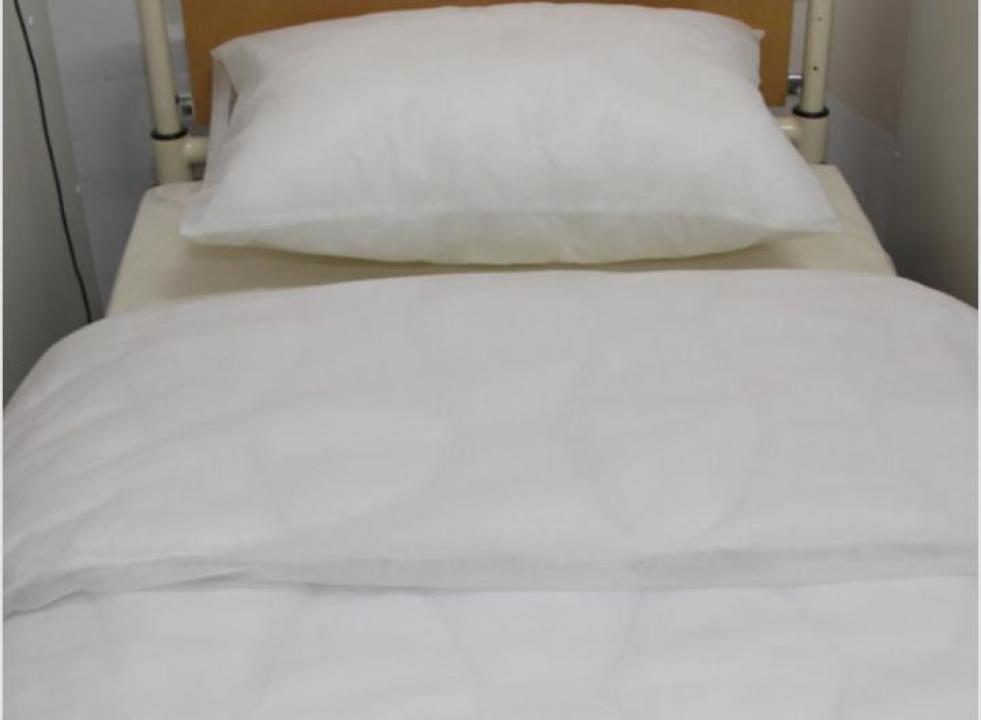 Lenjerie de pat de unica folosinta din polipropilena