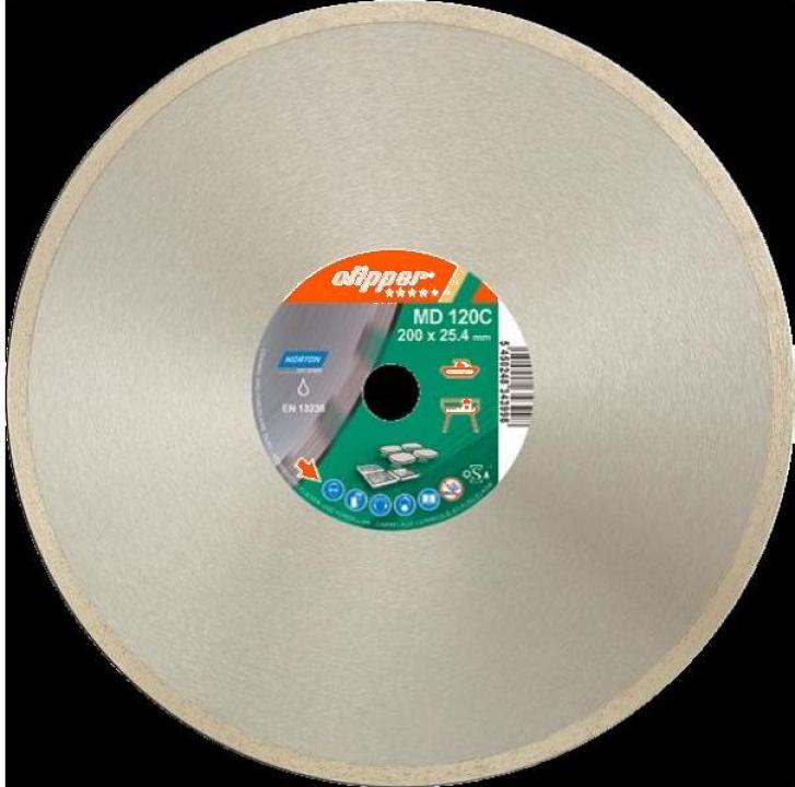 Disc diamantat pentru faianta MD120C 250x25.4