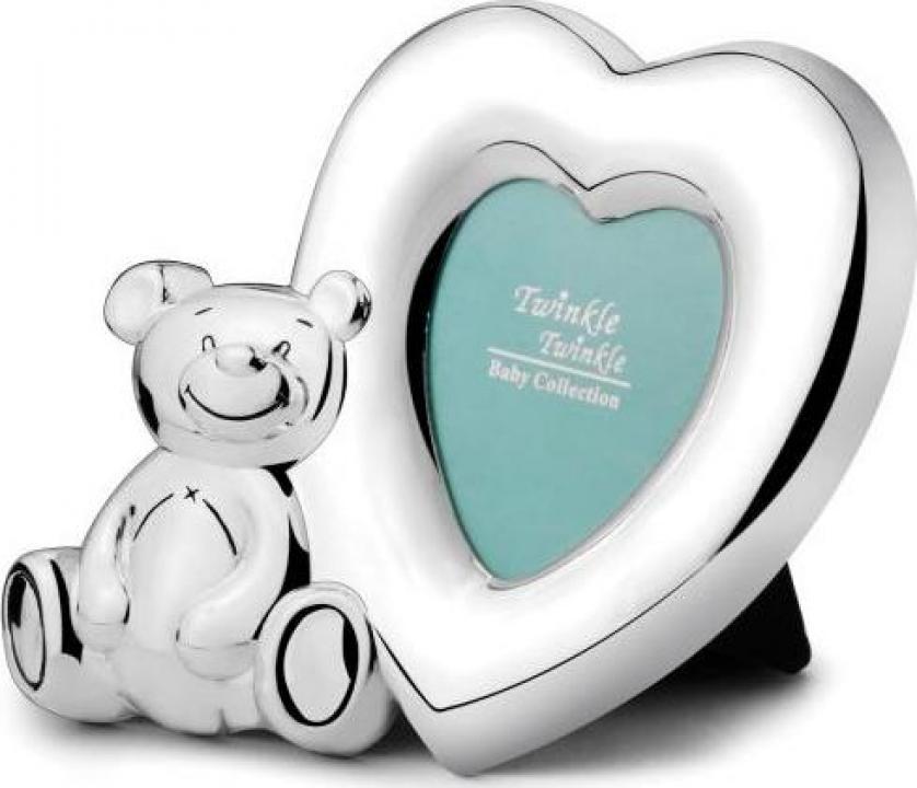 Rama foto argintata Lovely Bear - Twinkle