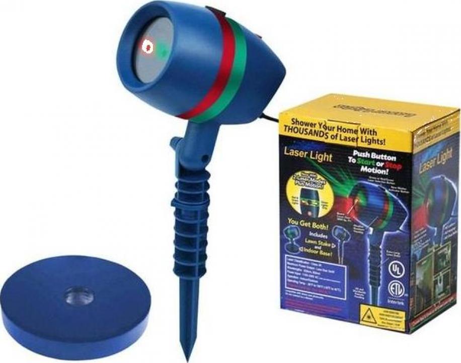 Laser cu proiectie de lumini efect 3D holografic