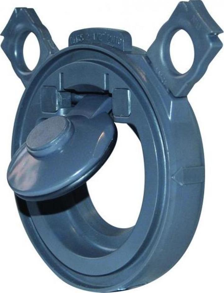 Clapeta de sens Wafer PVC-U