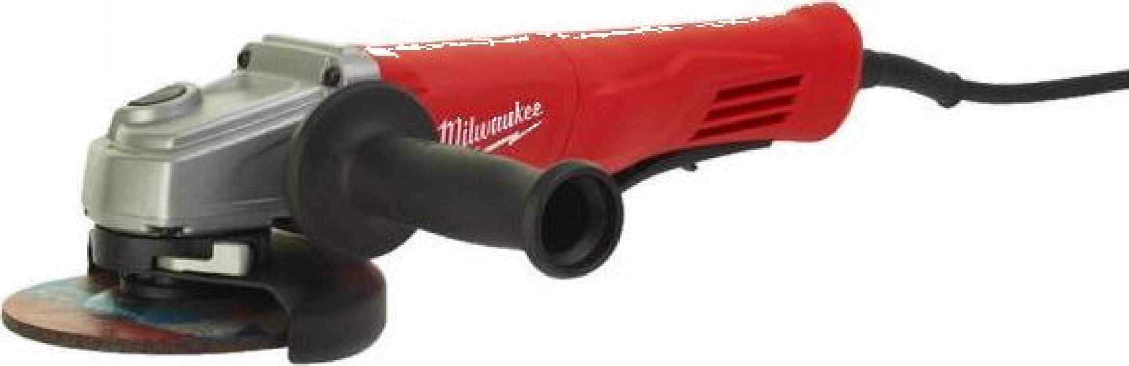Polizor unghiular Milwaukee AG 13-125 XSPD, 1250 W, 125 mm