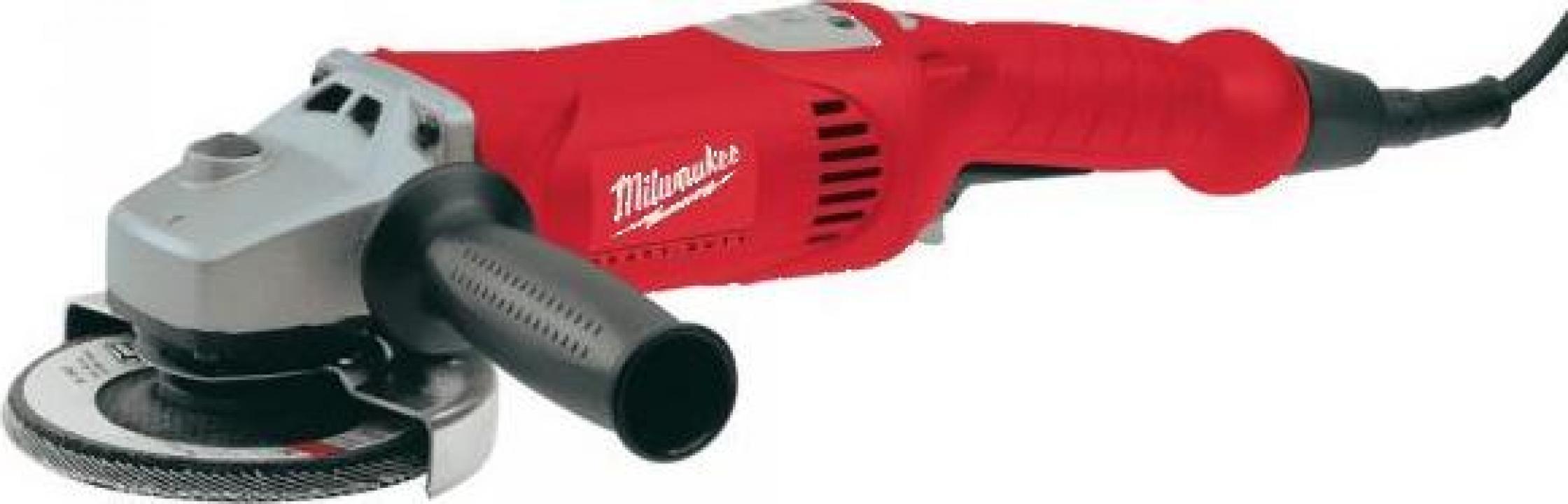 Polizor unghiular Milwaukee AG 16-125 inox, 1520 W, 125 mm