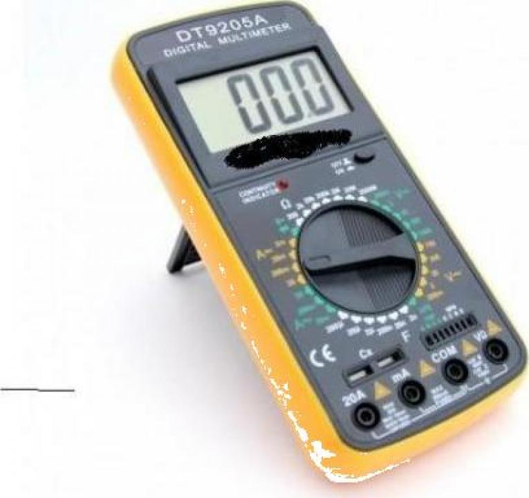 Aparat masura multimetru Digital DT9205A