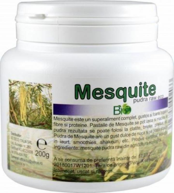 Pudra Raw Bio Mesquite 200g