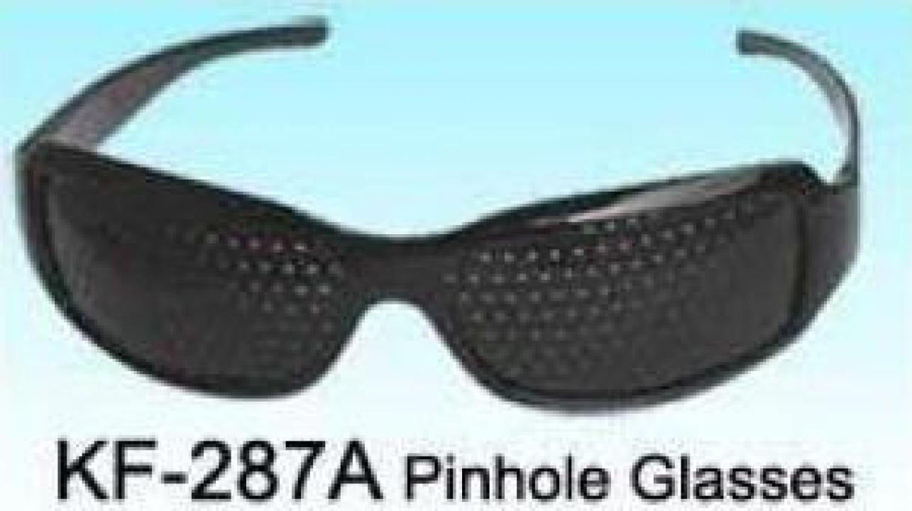 Ochelari protectie Stenopici Pinhole lentile cu gaurele