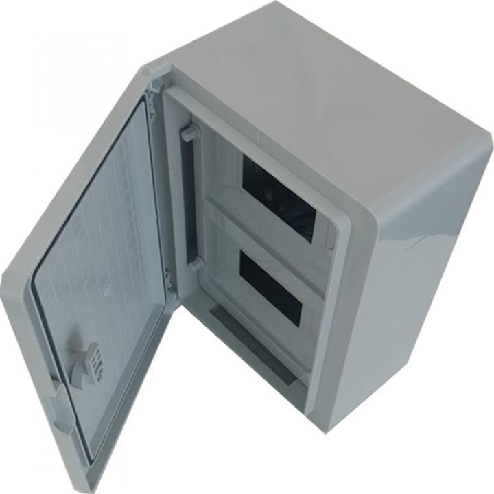 Panou electric ABS cu usa mata 18 module D:25x35x15 cm, IP65