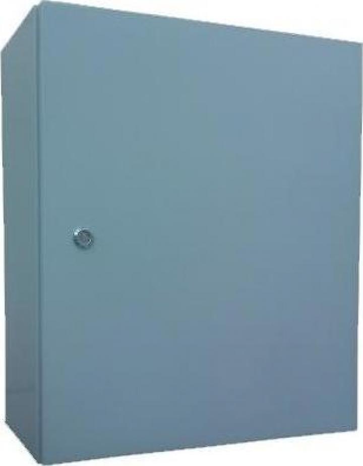 Panou electric metalic D:50x60x20 cm, culoare gri, IP54