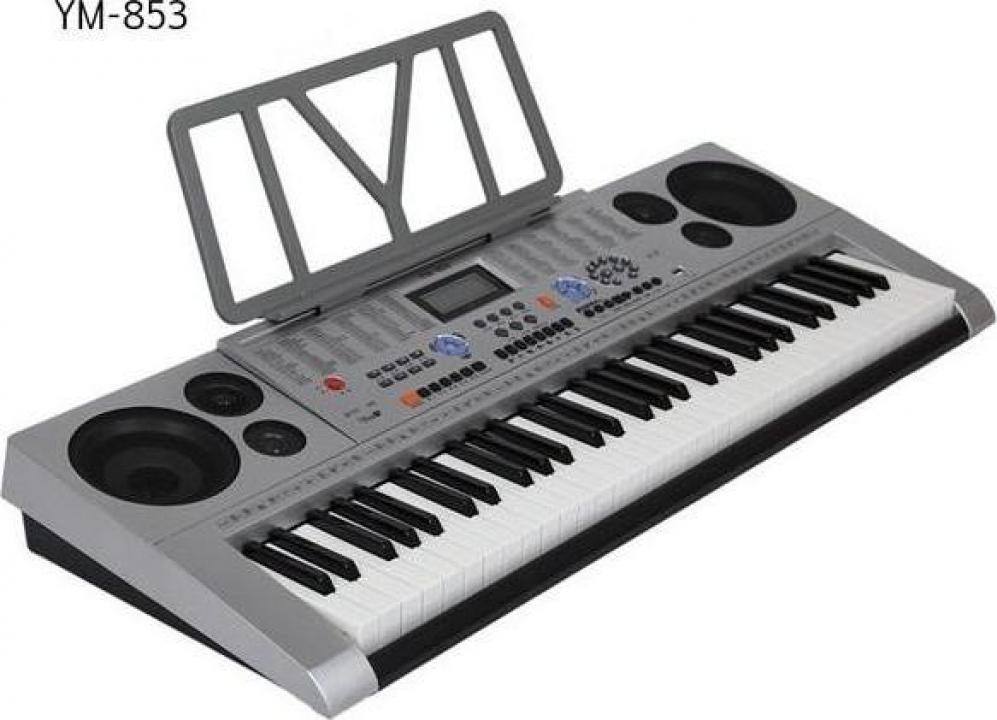 Orga electronica profesionala 61 de clape pline, YM-853