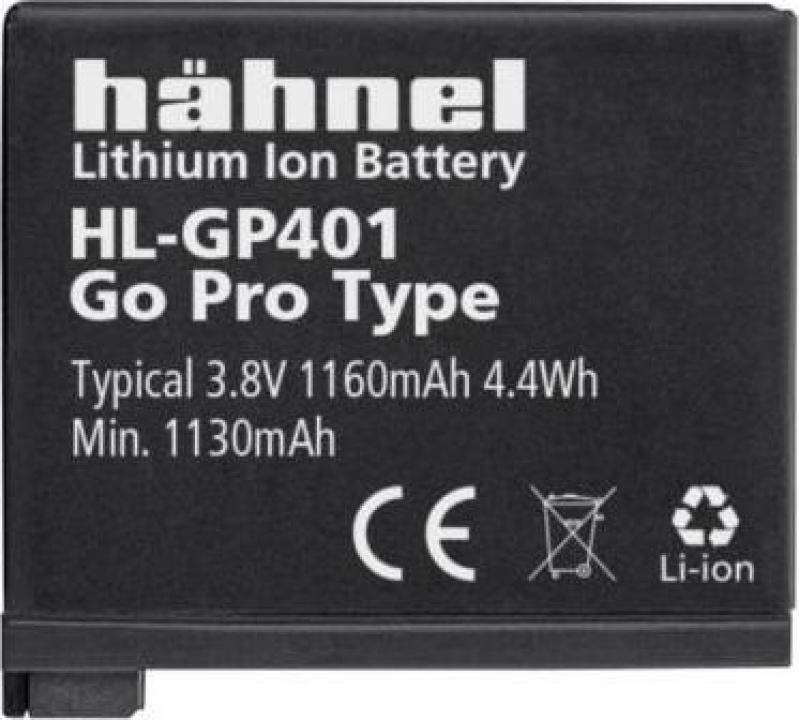 Acumulator Hahnel HL-GP401 pentru GoPro Hero 4 1160mAh