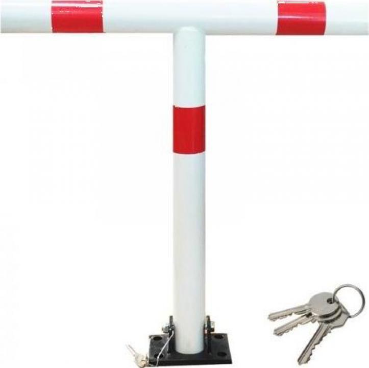 Sistem manual de blocare loc de parcare T, 3 chei 60x65